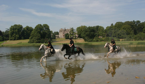 Castle Leslie- Ireland Equestrian Vacations
