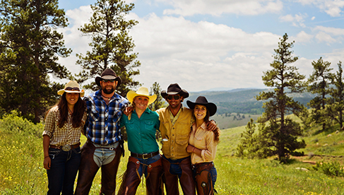 Cherokee Park Ranch Rocky Mountain Horseback Ranch Vacations