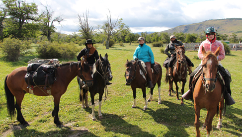 Chile Torres del Paine National Park Horseback Riding Vacations