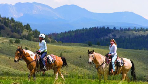 Teens have a program all their own at this Colorado dude ranch.