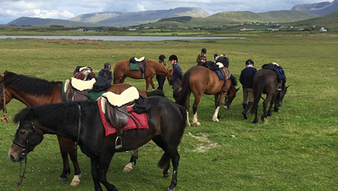 Clew Bay Trail Ride Ireland Riding Holidays Wild Atlantic Way