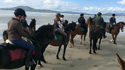Clew Bay Trail Ride Ireland Horseback Riding Holiday