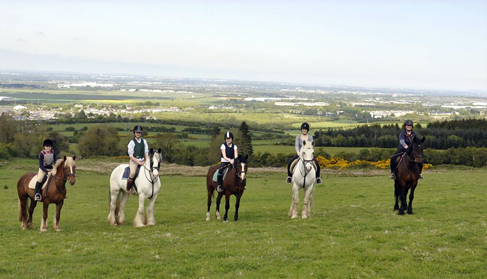 Coolmine Equestrian Academy Dublin equestrian riding vacations Ireland