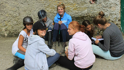 Crossogue Equestrian Camps for Unaccompanied Riders