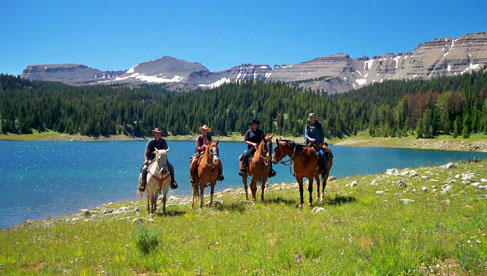The Red Rock Ranch, a Jackson Hole Dude Ranch.