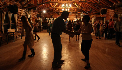 Eatons' Ranch, a Wyoming Dude Ranch, dance night
