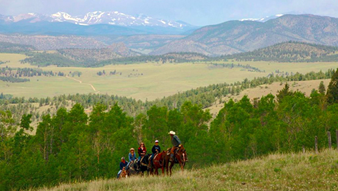 Elk Mountain Ranch- Colorado Guest Ranch Holidays