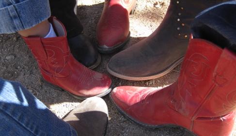 Elkhorn Ranch-Arizona dude ranch vacations cowboy boots