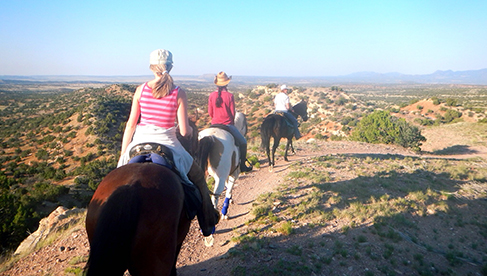 Enchantment Equitreks New Mexico Trail Riding Vacations