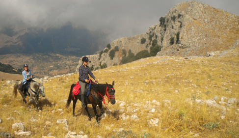 Italy Sicily horseback riding vacations