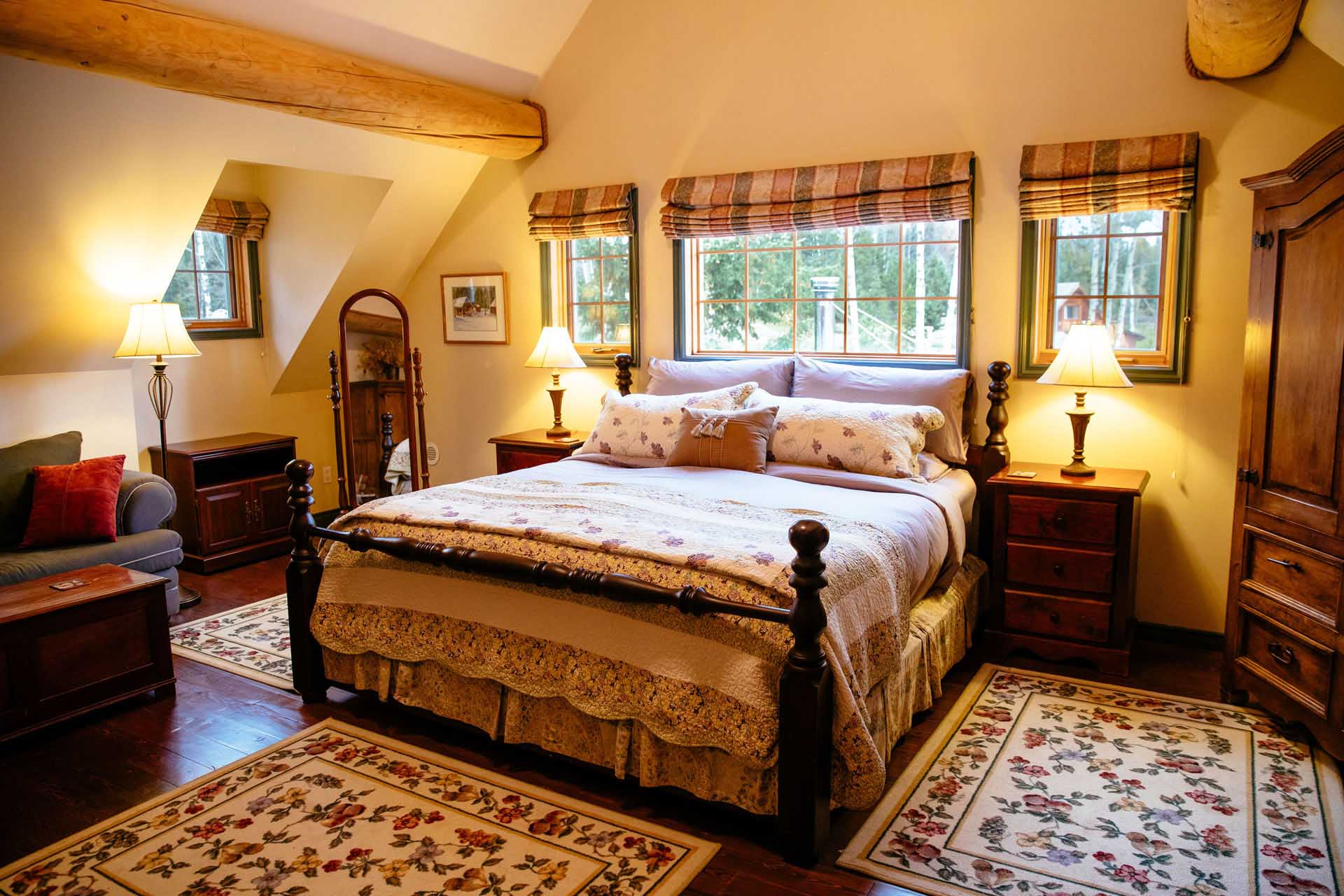 Ranch House Suites with lavish attention.