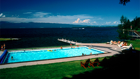 Flathead Lake Lodge Montana adventure travel