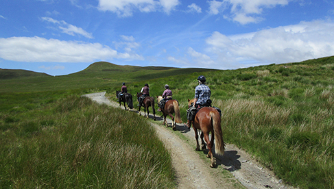 Wales Self Guided Horseback Riding Vacations Equitrekking