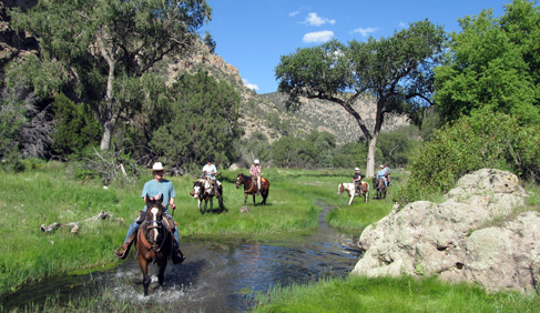 Whitewater Canyon at Geronimo Trail Guest Ranch, New Mexico.