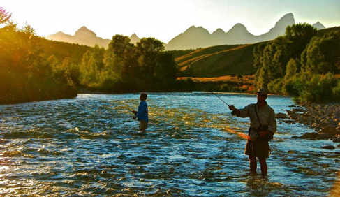 gros ventre river ranch, wyoming fly fishing vacation