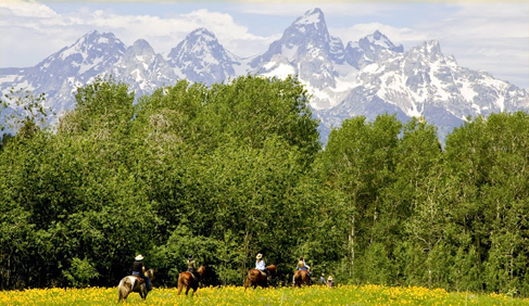 gros ventre river ranch, wyoming family ranch vacations