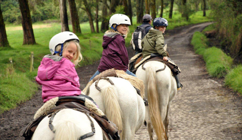 Hacienda Zuleta offers many kid-friendly activities. Photo by Peppo at Hacienda Zuleta- Ecuador Riding Vacations