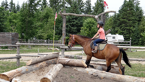 Horse Country Campground Ottawa equestrian holidays in Canada