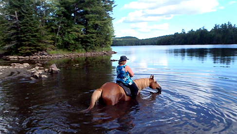 Horse Country Campground Ottawa horse riding vacations Canada