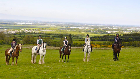 Coolmine Irish Equestrian Holidays