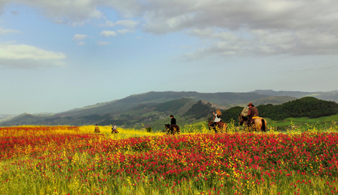 sicily horseback riding tours