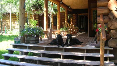 gros ventre river ranch, wyoming guest ranch vacations