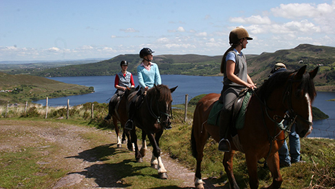 Ireland Horseback Riding Vacations Killarney Riding Stables