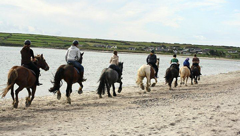 Longs Equestrian Riding Holidays Dingle Peninsula Ireland