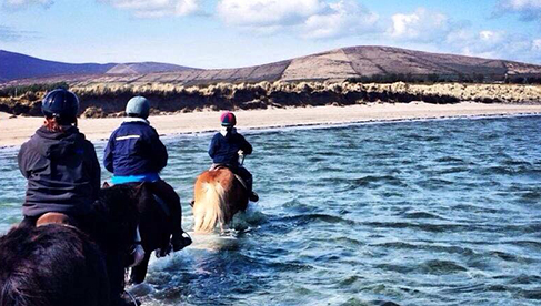 Longs Horseback Riding Vacations Dingle Peninsula Ireland