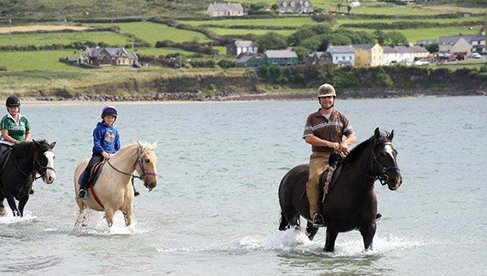 Longs Horseback Riding Vacation Dingle Peninsula Ireland