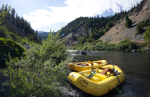Marble Mountain Ranch whitewater rafting, a California Guest Ranch Vacation