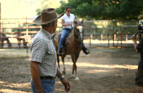 Marble Mountain Ranch arena riding, a California Guest Ranch Vacation