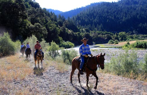Marble Mountain Ranch trail rides, a California Guest Ranch Vacation