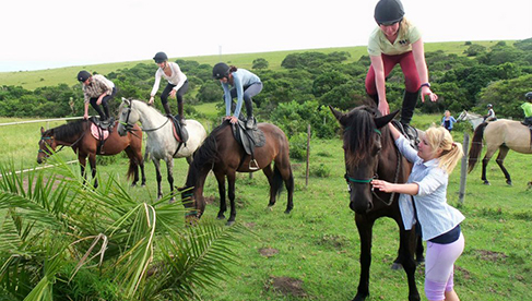 Learn to Horseback Ride Kids Camps Africa