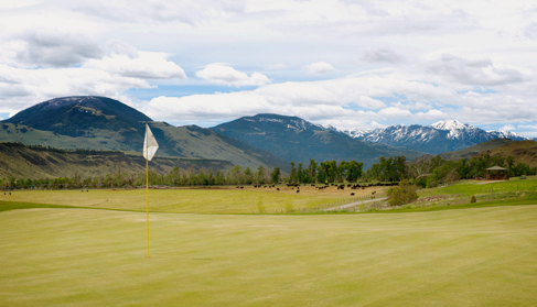 Mountain Sky Ranch Montana dude ranch golf