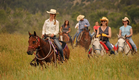 Mountain Sky Guest Ranch Montana horseback riding