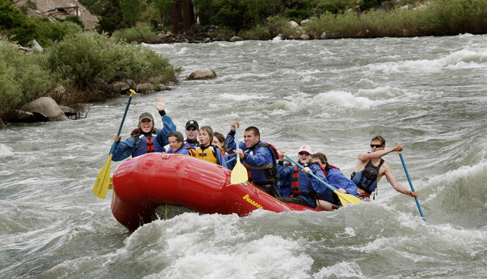 Mountain Sky Guest Ranch Montana whitewater rafting
