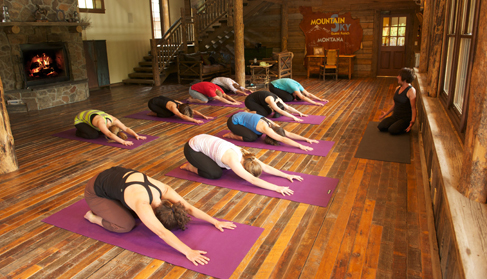 Mountain Sky Guest Ranch Montana yoga vacations