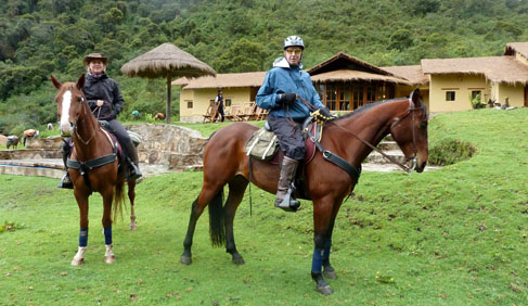 Mountain Lodges of Peru Riding Holidays