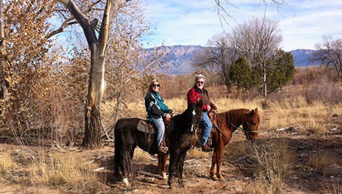 New Mexico Horseback Riding Vacations Steve Simmons