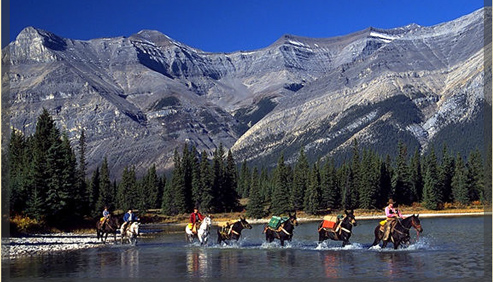 Outpost at Warden Rock Alberta horseback riding vacations