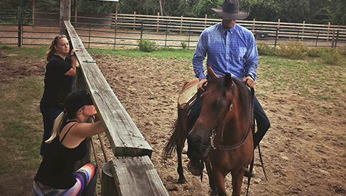 Rafter P Florida horseback riding holidays
