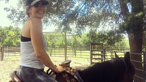 Rafter P Orlando guest ranch riding holidays