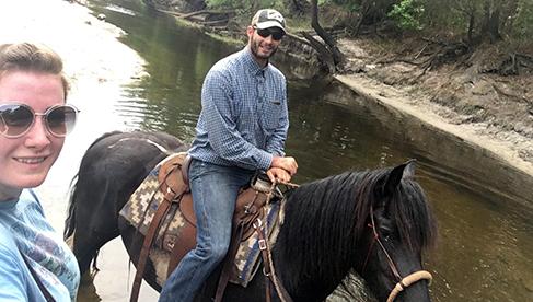 Rafter P Orlando horseback riding holidays