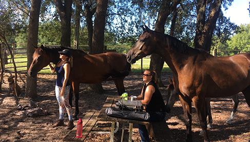 Rafter P Orlando Florida guest ranch riding holidays