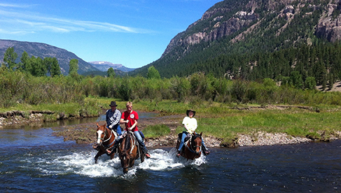 Rainbow Trout Ranch Southern Colorado Dude Ranch Holidays