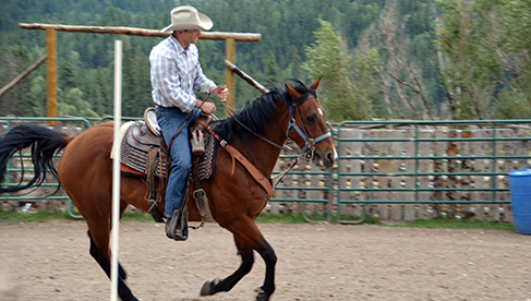 Rainbow Trout Ranch Southern Colorado Guest Ranch Vacation Loping
