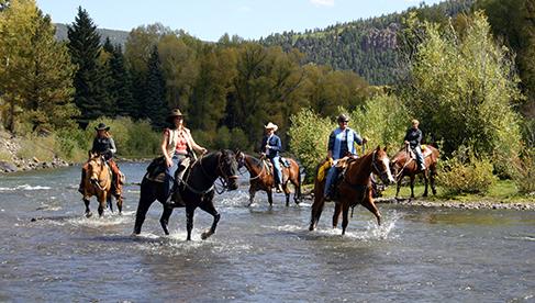 Rainbow Trout Ranch Colorado Dude Ranch Vacation