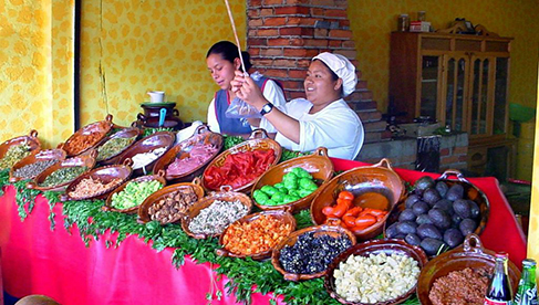 Mexico Ranch Vacations and Mexico Horse Riding Vacations Food