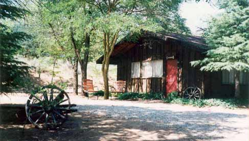 Cabin at Rankin Ranch, a California dude ranch